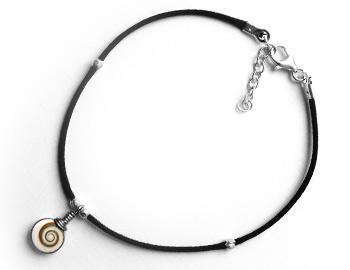 "Shiva Auge Fußkette ""Mini"" 1 Stein"