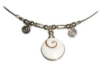 Shiva Auge Halskette Edel 2