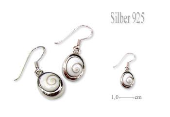 Shiva Auge Ohrhänger Oval