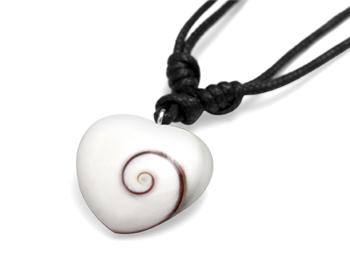 Shiva Auge Halskette Herz