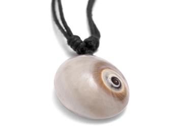 Halskette Kreiselschnecke weiß