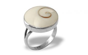 Shiva Auge Ring rund medium