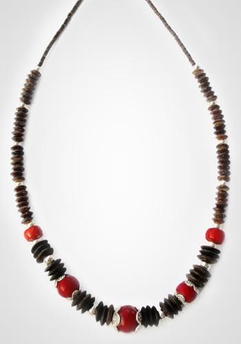 Halskette Schaumkoralle 2