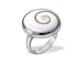 Shiva Auge Ring rund big