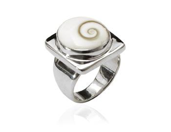 Shiva Auge Ring square big