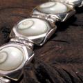 Shiva Auge Armkette 7 Steine