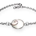 Shiva Auge Armkette Silber medium