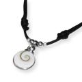 Shiva Auge Halskette Mini mit 925 Silber
