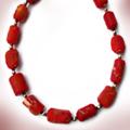 Halskette Koralle