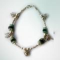 Halskette und Armkette Türkis