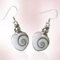 Shiva Auge Ohrhänger Herzform small