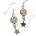 Shiva Auge Ohrhänger Sternchen