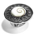 Shiva Auge Ring Sonne geschlossen
