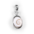 Shiva Auge Anhänger Oval mini