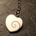 Shiva Auge Schlüsselanhänger Herz