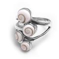 Shiva Eye Ring mit 4 Steinen